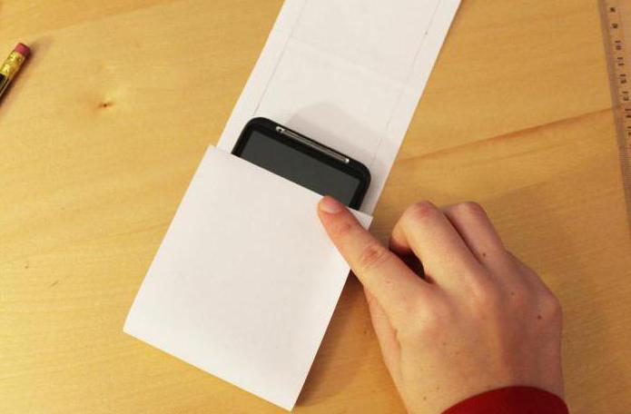 чехол для телефона своими руками из бумаги