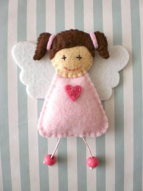 ангел своими руками из ткани