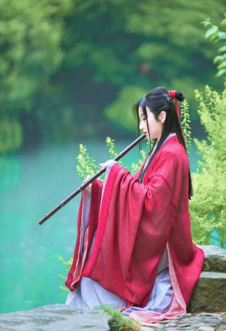 китайские женские прически