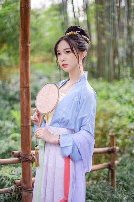 китайская прическа с палочками