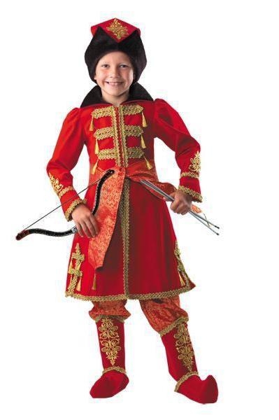 костюм ивана царевича детский