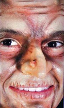 как сделать нос бабы яги своими руками