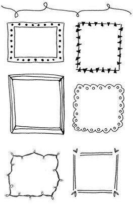 How to draw the frame by hand