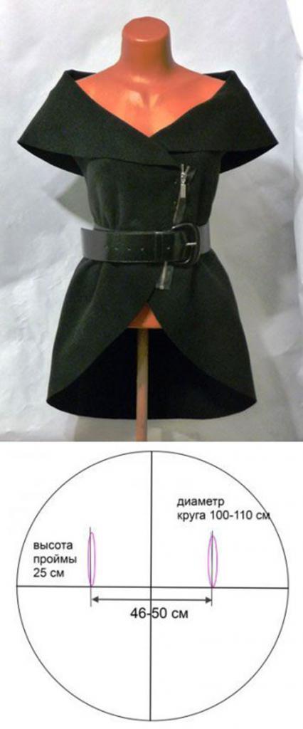 Как сшить прямой кардиган из трикотажа