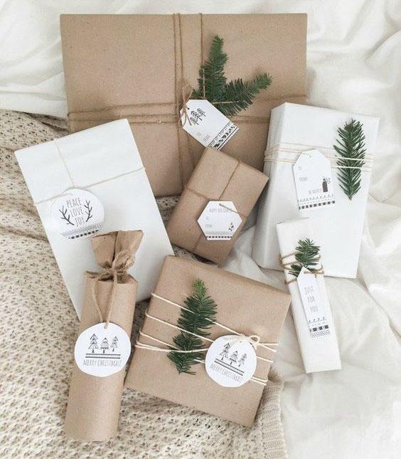 как можно оборачивать подарки