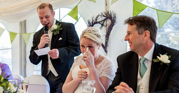 Parent speech for wedding