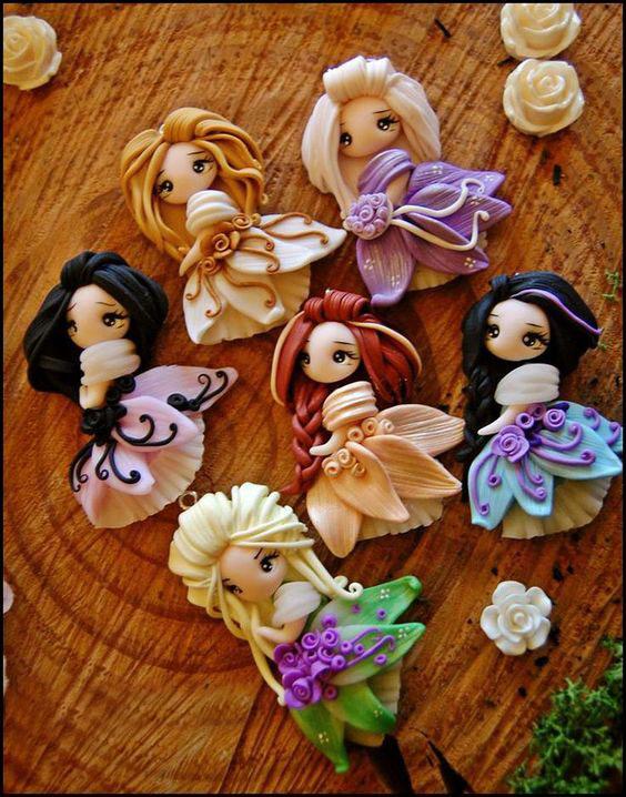 Поделки из пластилина своими руками. Куклы из пластилина