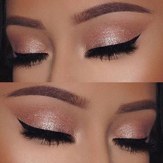 makeup for blondes with gray eyes