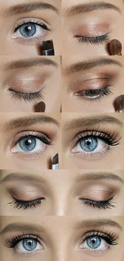 makeup for blondes with blue eyes