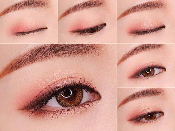 макияж азиатских глаз фото