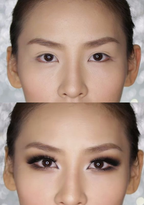 азиатский разрез глаз макияж