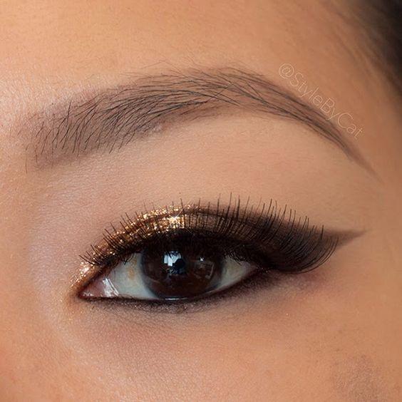 макияж для азиатского типа глаз