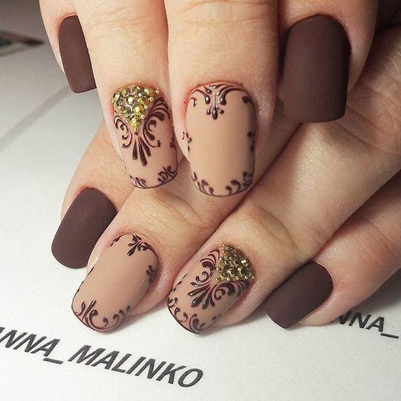 Красивый бежевый маникюр: фото лучших дизайнов ногтей с бежевым цветом, интересные идеи