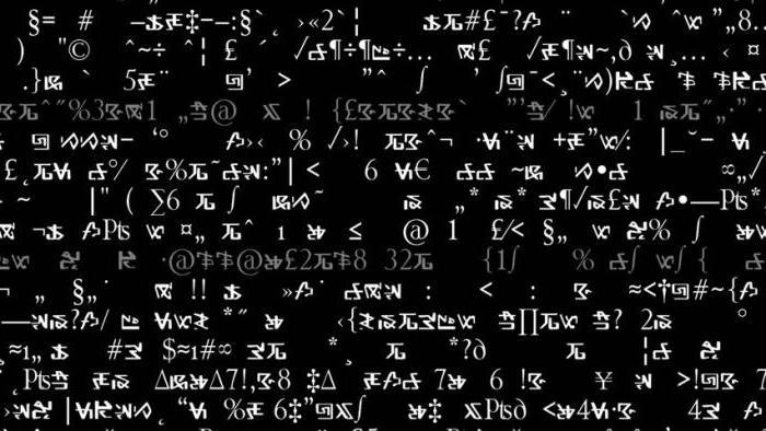 что является знаком в математике