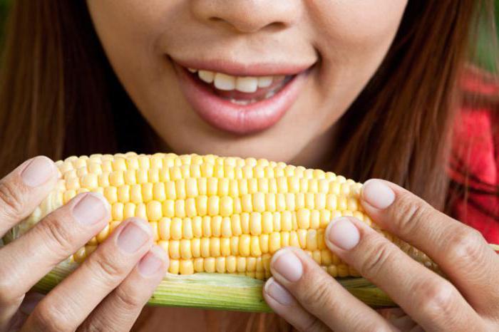 Вареная кукуруза во время беременности