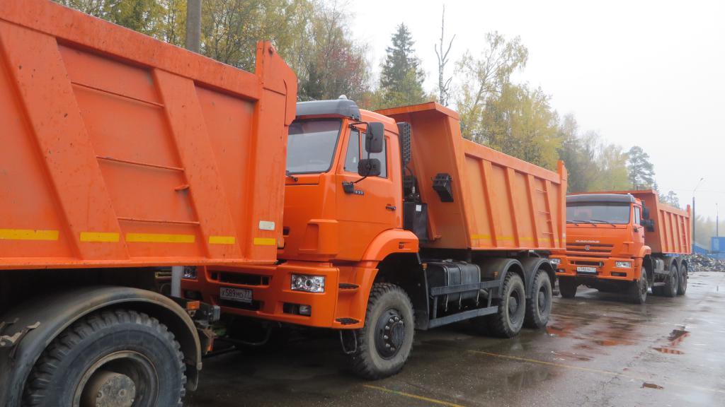 KAMAZ 6522 with cargo