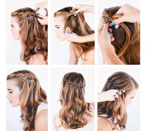 Как плести греческую косу