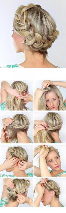 Греческая коса: пошаговая инструкция
