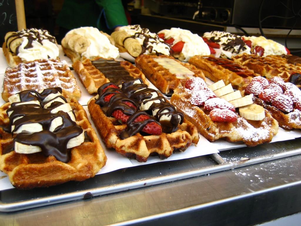 Венские вафли в мультипекаре