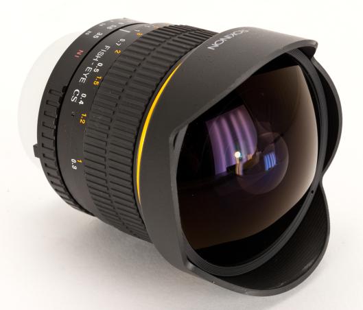 """Камера """"рыбий глаз"""" и ее особенности"""