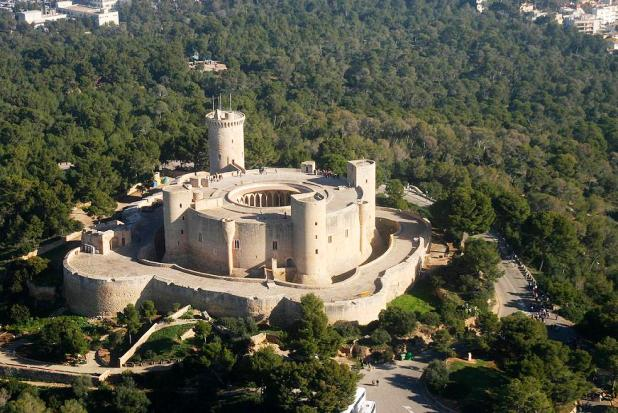 Castillo de Bellver Mallorca Spain