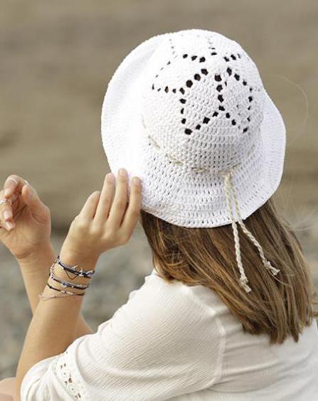 летняя шляпка связанная крючком