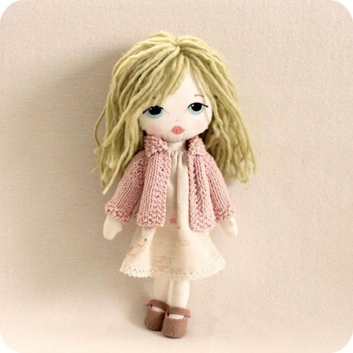 текстильные куклы малышки
