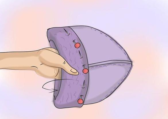выкройка спортивной шапки из флиса