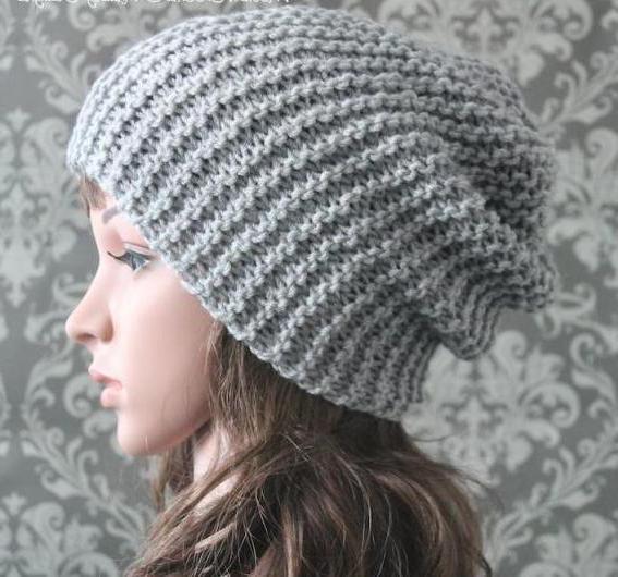 Стильный набор - шапка и снуд из трикотажа своими руками