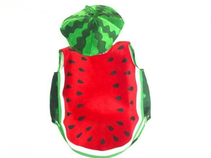 костюм арбуза для мальчика своими руками