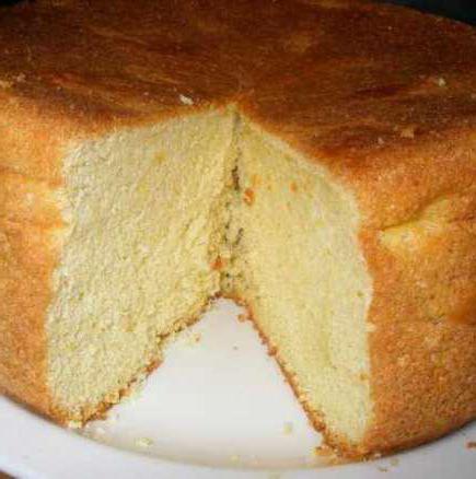 рецепт мокрого бисквита в мультиварке