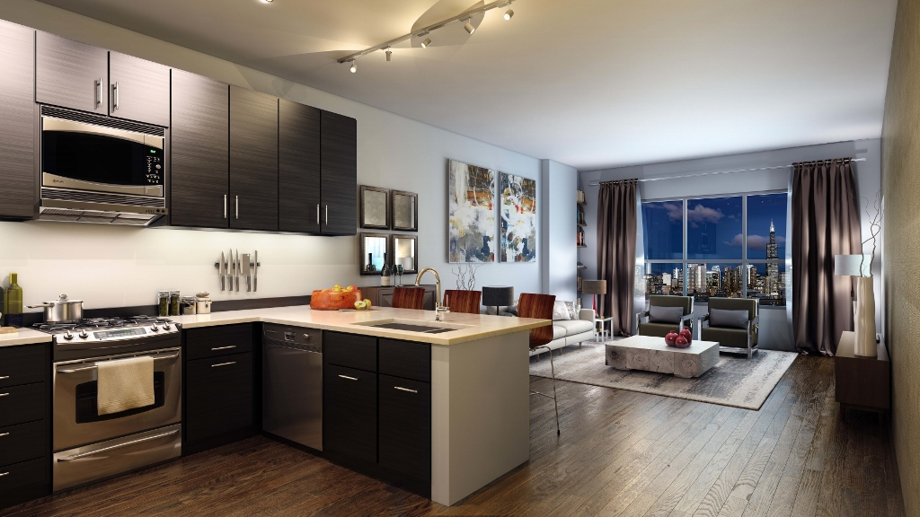 Feng Shui in a studio apartment