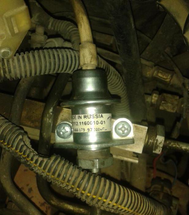 Регулятор подачи топлива ваз 2110