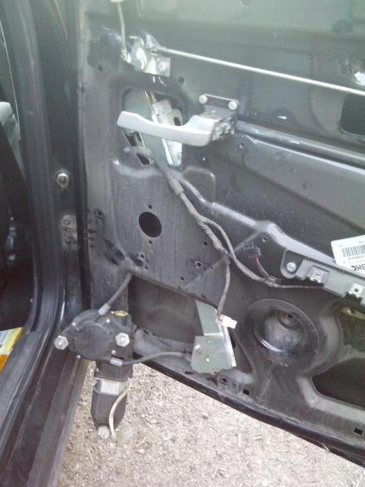 1984736 - Электростеклоподъемники подключение проводки правой двери