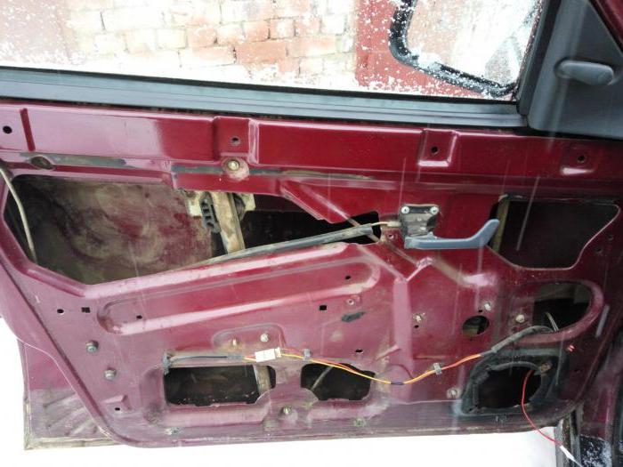 1984739 - Электростеклоподъемники подключение проводки правой двери