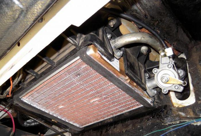 Замена крана отопителя ваз 2107 инжектор