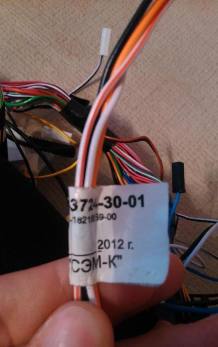электросхема насоса ВАЗ-2110