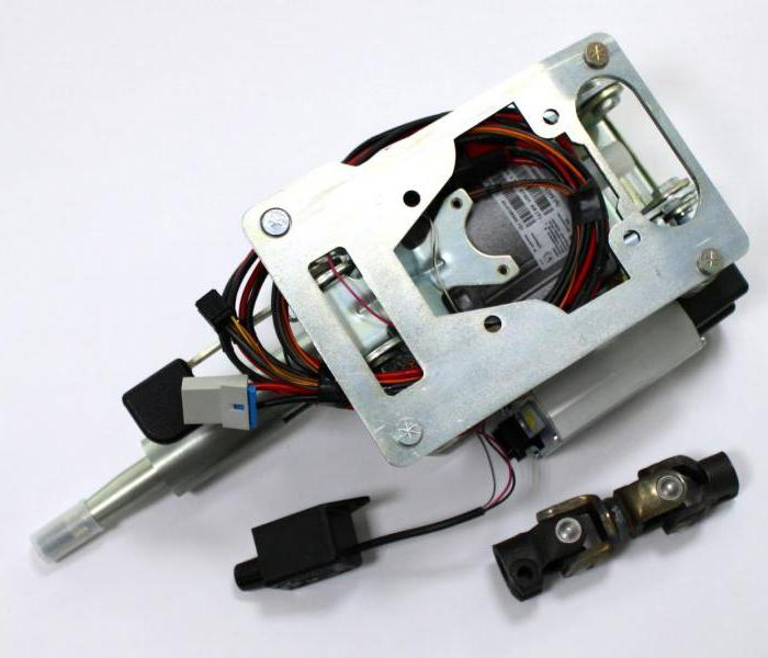 установка электроусилителя руля