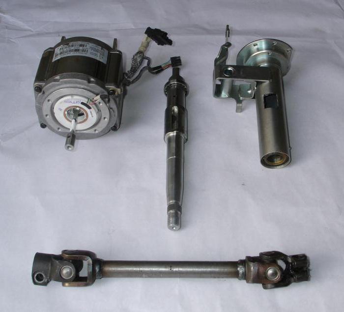 электроусилитель руля на ВАЗ-2107