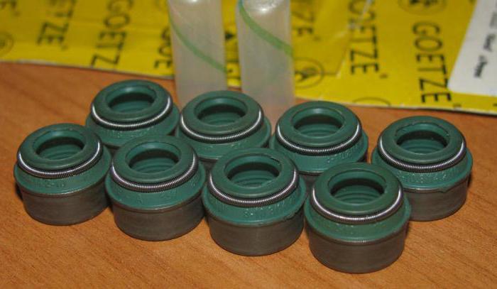 замена маслосъемных колпачков ВАЗ-2106 руками