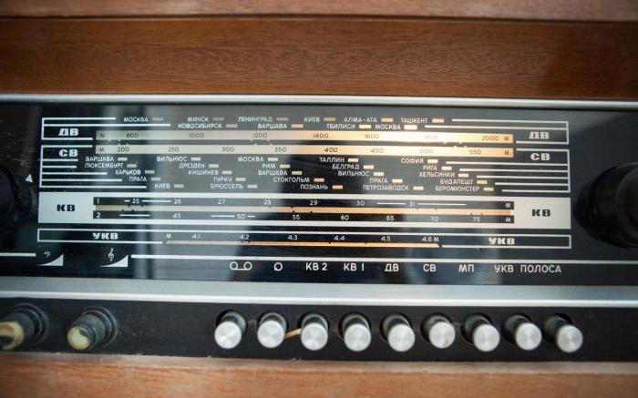 радиолы СССР