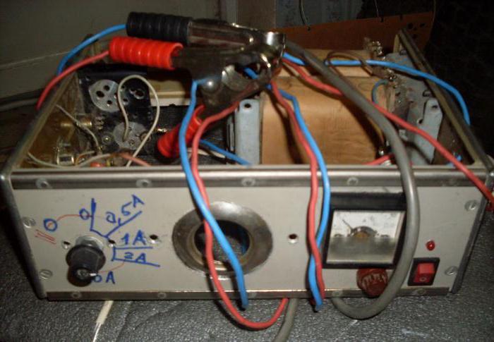 зарядное устройство с регулировкой на тиристоре