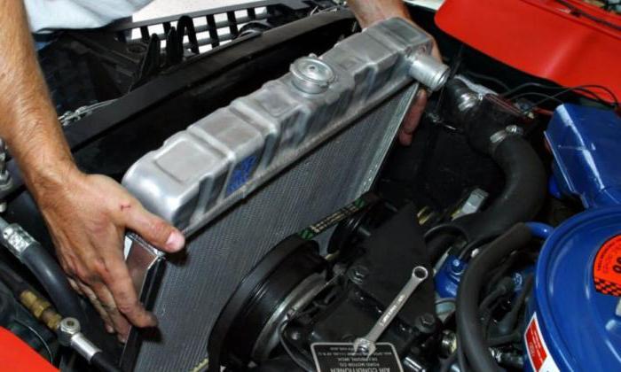 2122830 - Схема движения тосола в системе охлаждения