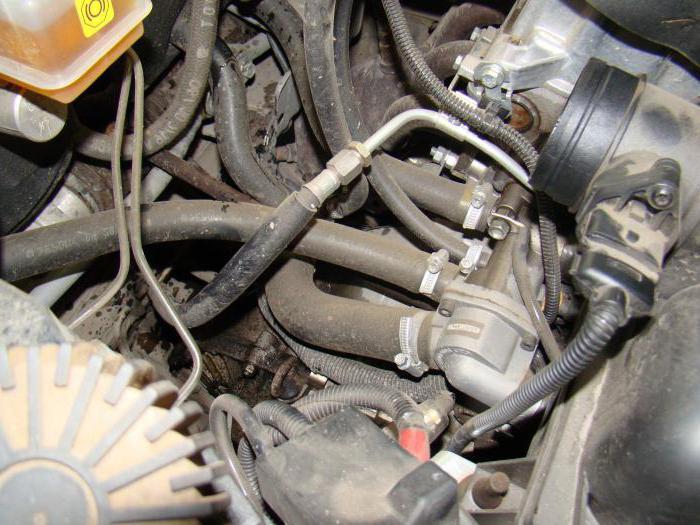 2122832 - Схема движения тосола в системе охлаждения