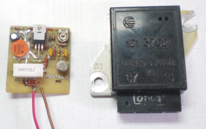ВАЗ-2106 реле зарядки