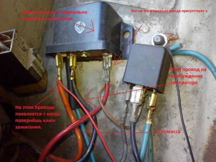 ВАЗ-2106 реле зарядки аккумулятора