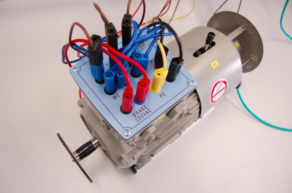 Опытный образец электромотора
