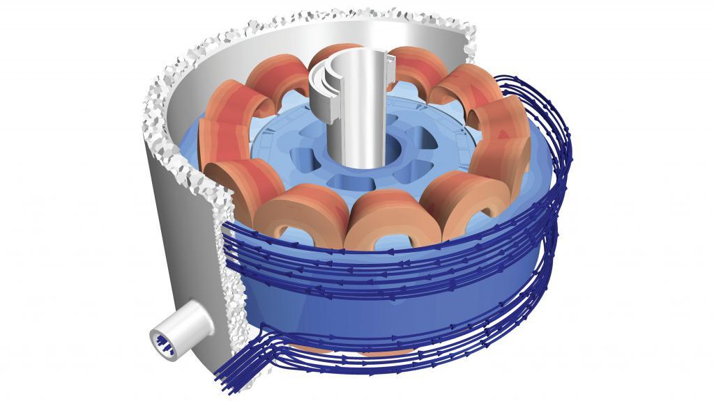 Обмотки электрического двигателя