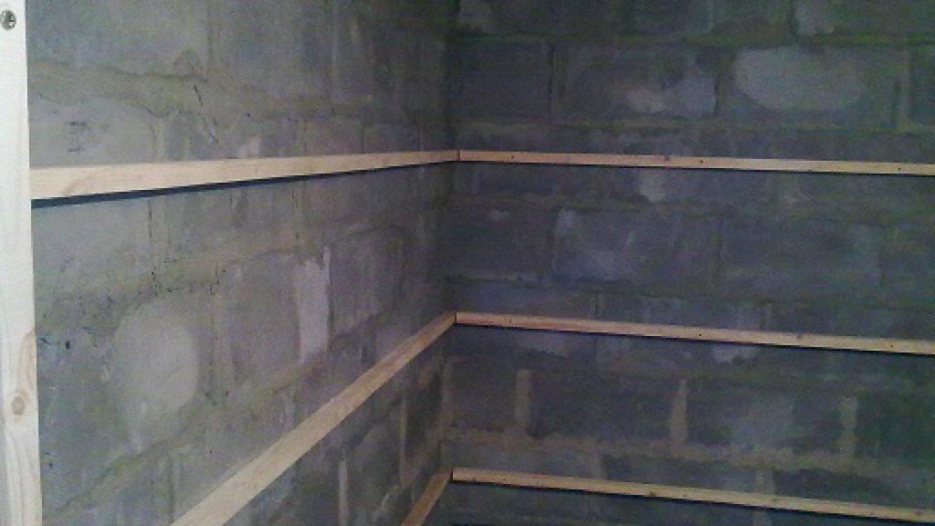 внутренняя отделка бани из блоков