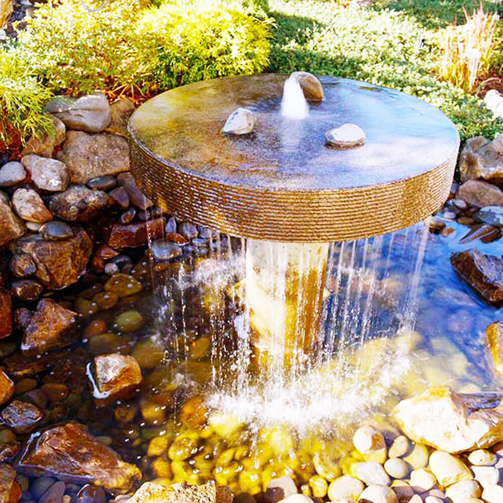 самодельный фонтан фото как сама